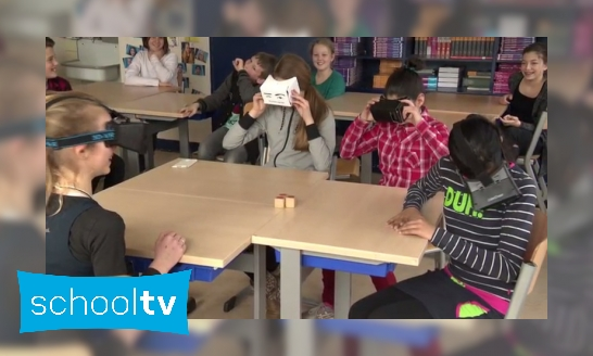 Plaatje Virtual Reality in de klas