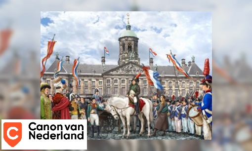Plaatje Vensterplaat Napoleon Bonaparte
