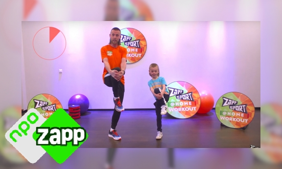 Plaatje Zappsport@HOME - Workout