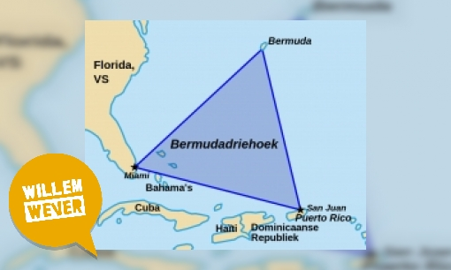 Wat is de Bermuda driehoek?