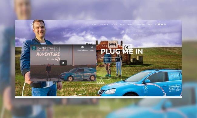 Plaatje Plug me in project